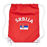 Serbie fan gymbag
