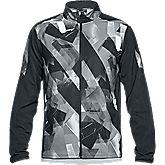Storm Out & Back Printed giacca da corsa uomo
