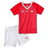 Svizzera Home set calcio bambini
