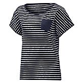 Travel Striped Donna T-Shirt
