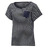 Travel Striped Femmes T-Shirt