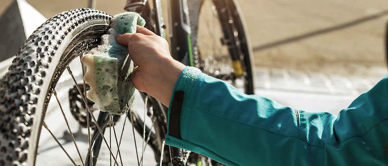 Pulizia della bicicletta