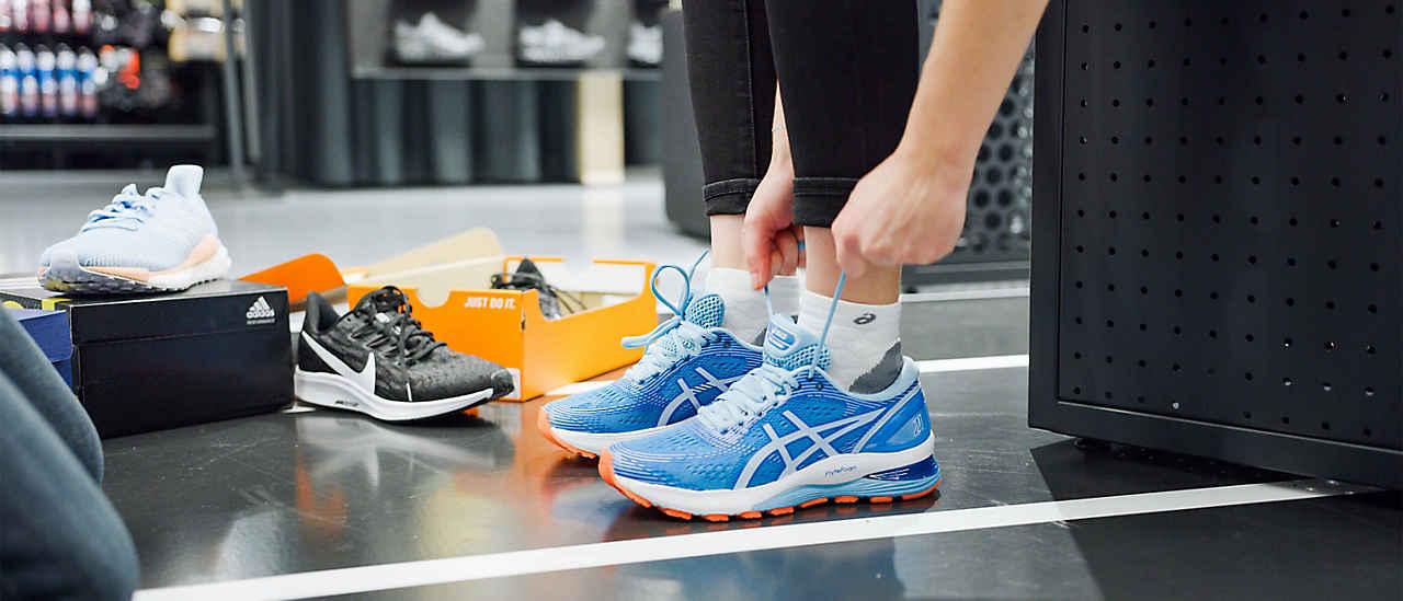 Trouve tes chaussures de course