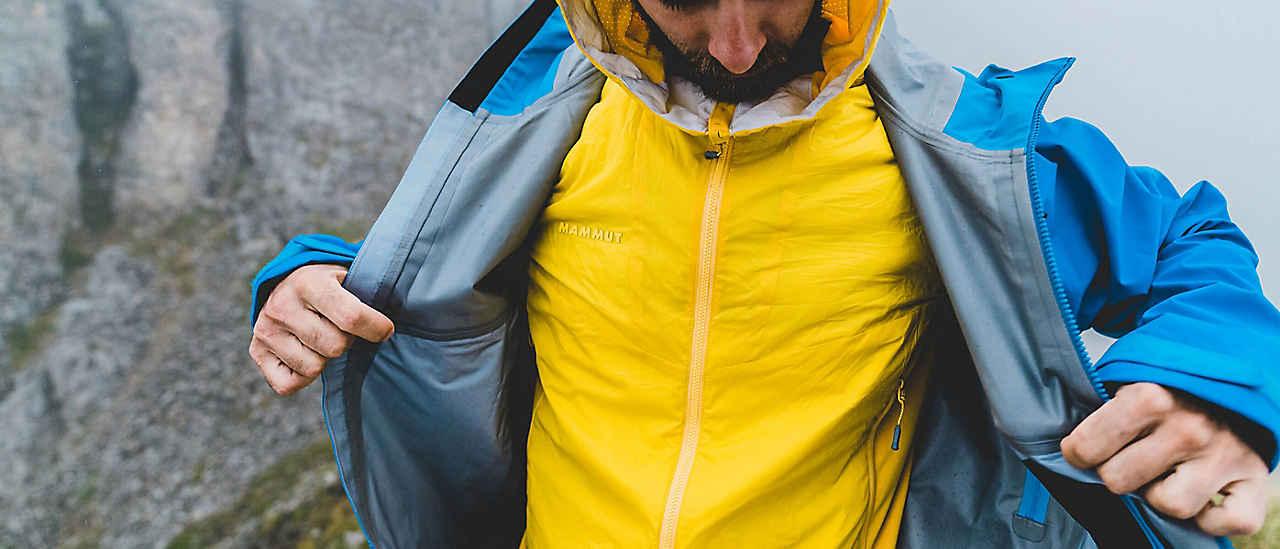 Richtig anziehen beim Wandern