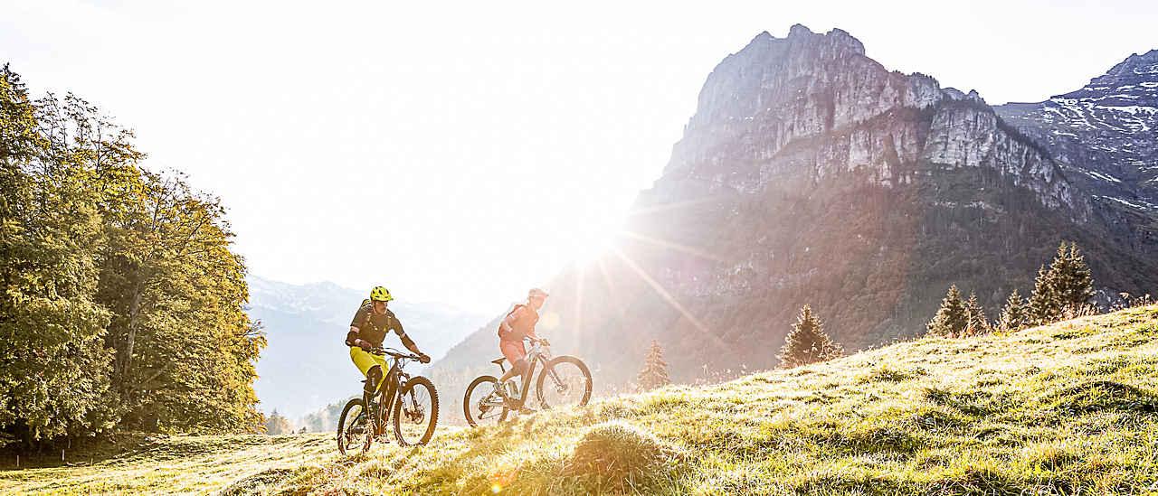 I più bei sentieri per la Mountainbike