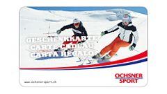 Geschenkkarte Ski