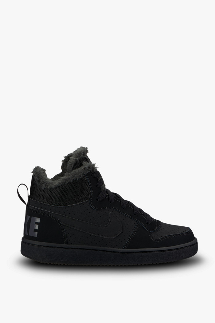 ca021e79aa9a89 Court Borough Mid Jungen Sneaker in schwarz - Nike