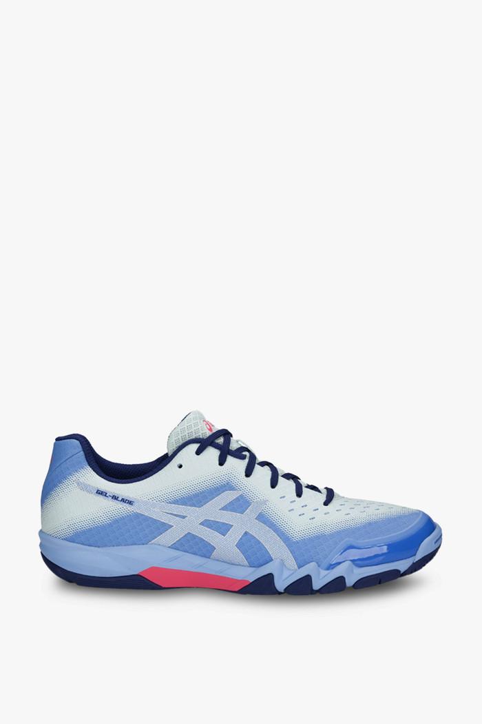 Asics Femmes Gel Blade 6 Chaussures De Sport En Salle