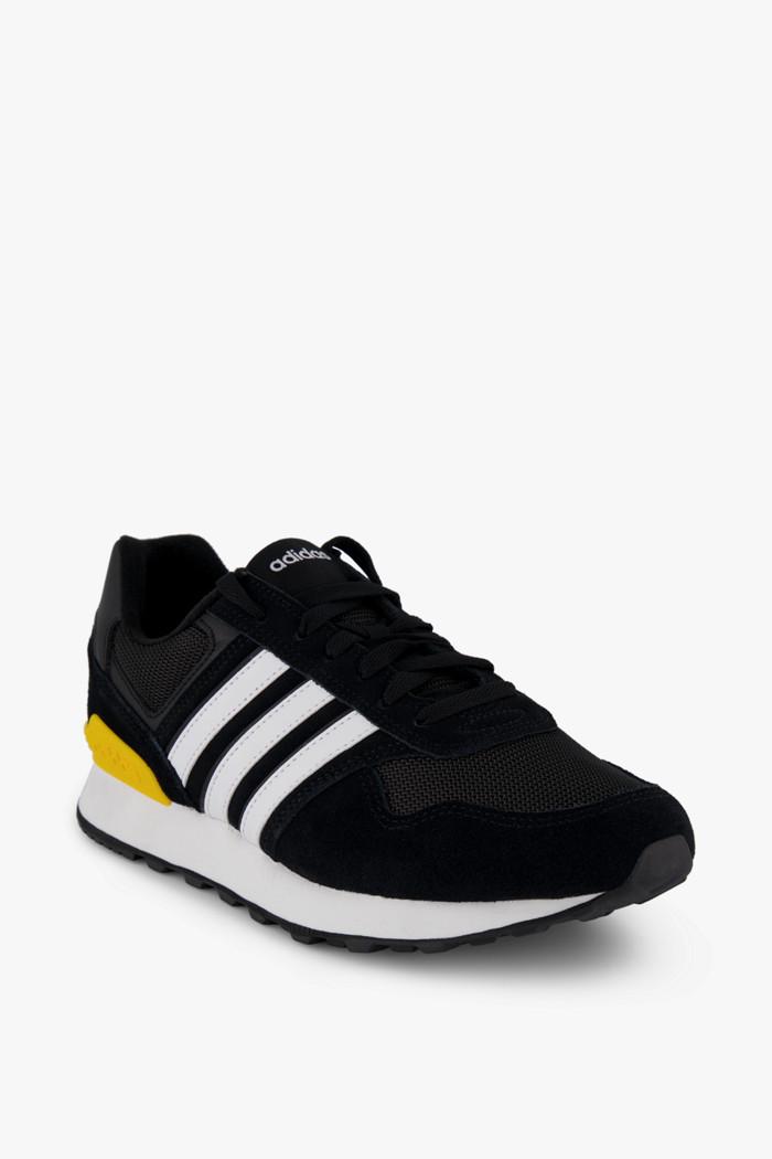 adidas Performance 10K Herren Sneaker in schwarz weiß