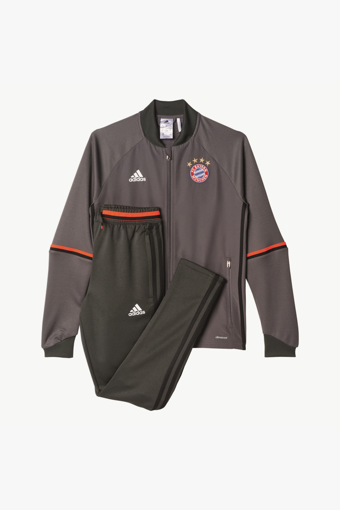 FC Bayern Trainingsanzug Kinder in rot adidas | online kaufen