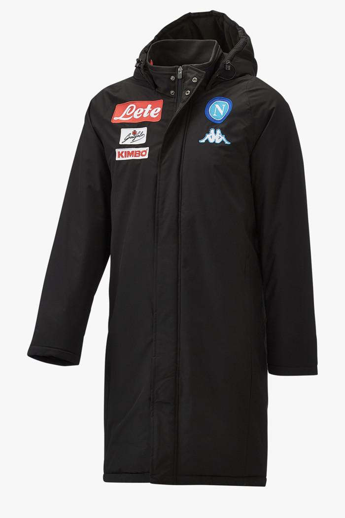 klassische Stile dauerhafte Modellierung komplettes Angebot an Artikeln Kappa Napoli Herren Jacke in schwarz sichern | Ochsner Sport