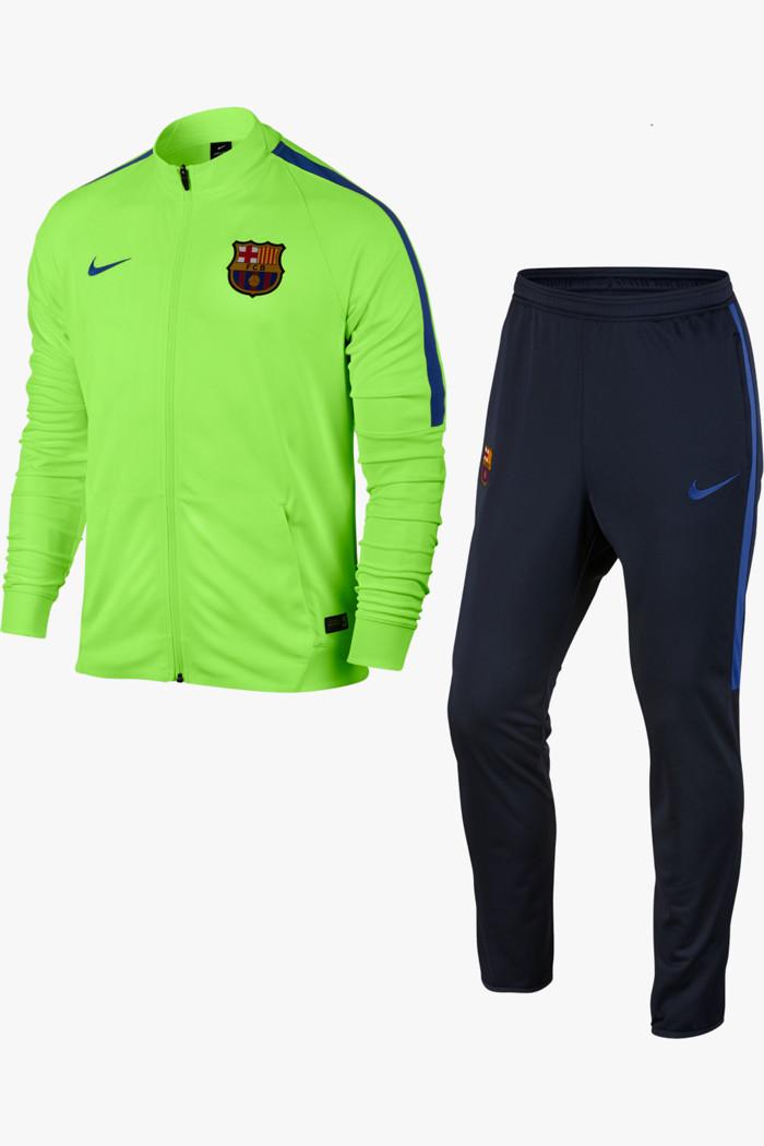Nike Academy 18 Woven Trainingsanzug Spark GrünSchwarzPiniengrün