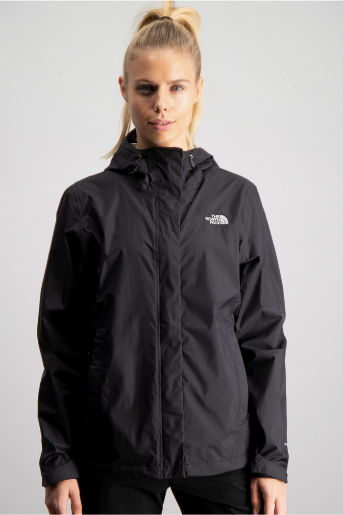 newest aa39d 2b729 Venture 2 Damen Regenjacke in schwarz - The North Face ...