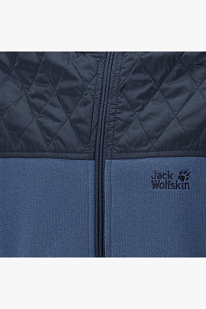 Jack Wolfskin Mackenzie River Herren Jacke in blau sichern