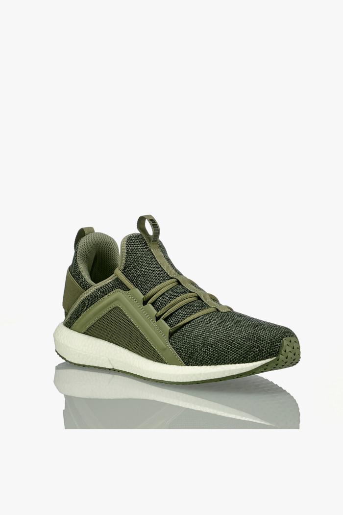PUMA 'Mega NRGY Knit' Sneaker Herren oliv