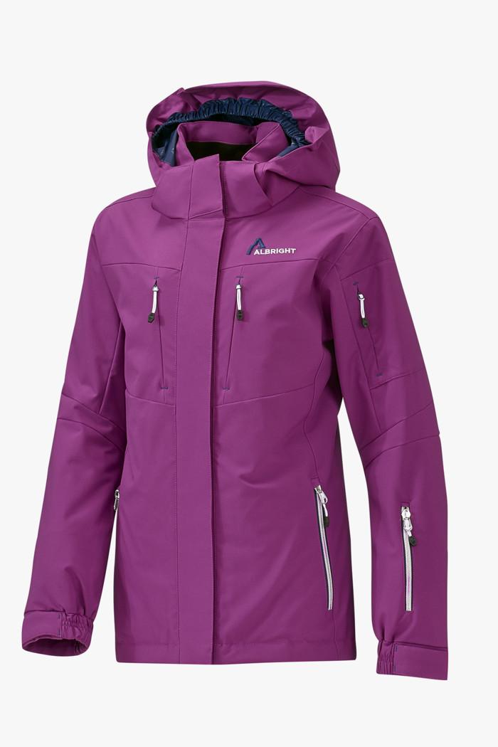Wengen Top Line Mädchen Skijacke In Lila Albright Online Kaufen