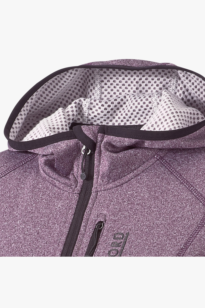 46 Nord Damen Fleecejacke in lila sichern | Ochsner Sport