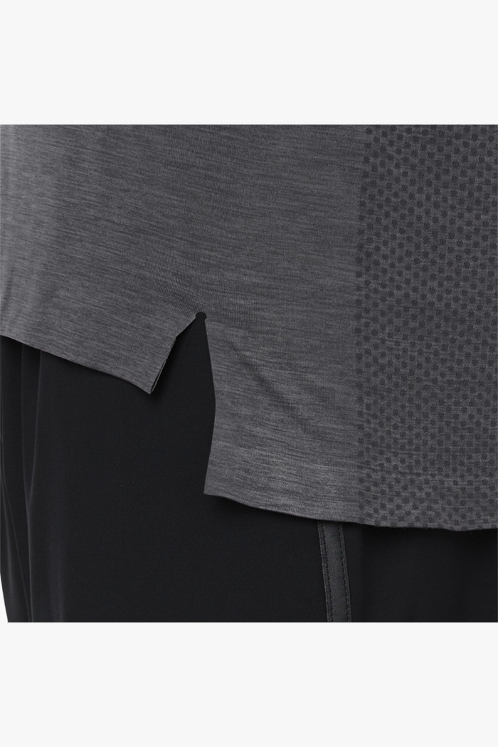 Seamless Herren T Shirt in anthrazit Asics | online kaufen