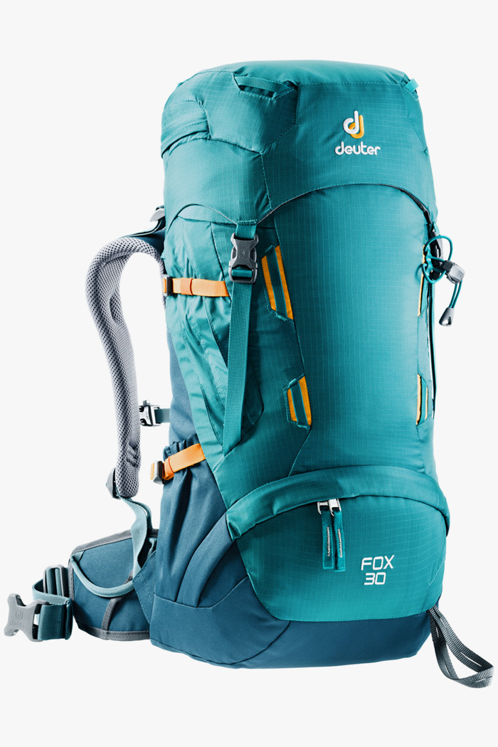 c88db387861ed Fox 30 L Kinder Wanderrucksack in petrolblau - Deuter