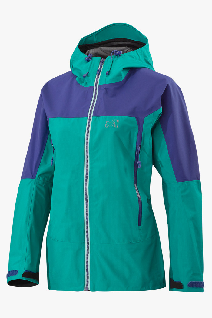 huge selection of e49d1 380fe Jungfrau Gore-Tex® Damen Outdoorjacke in blau - Millet ...