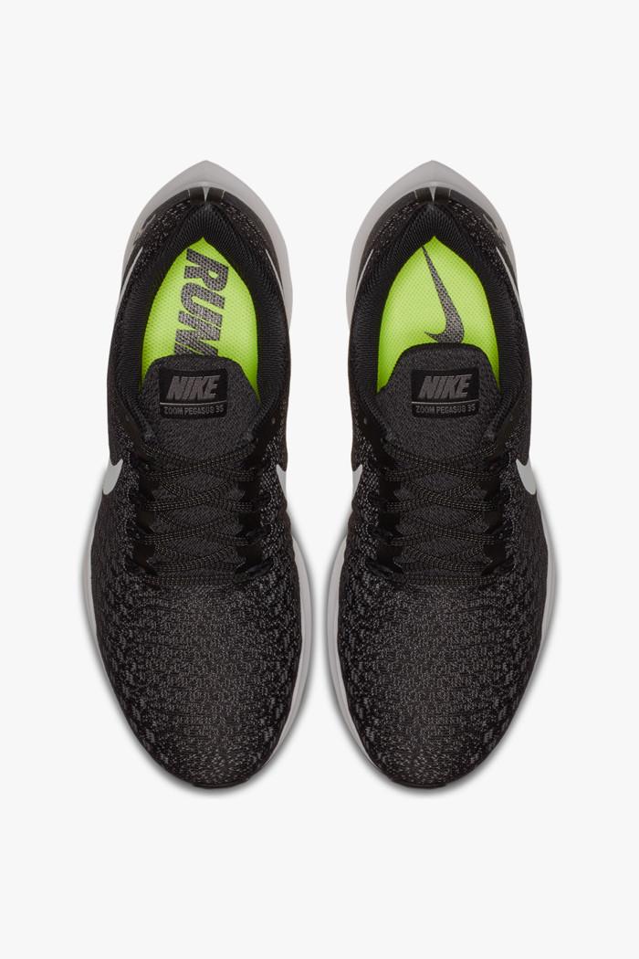 Air Zoom Pegasus 35 Herren Laufschuh in schwarz weiß Nike