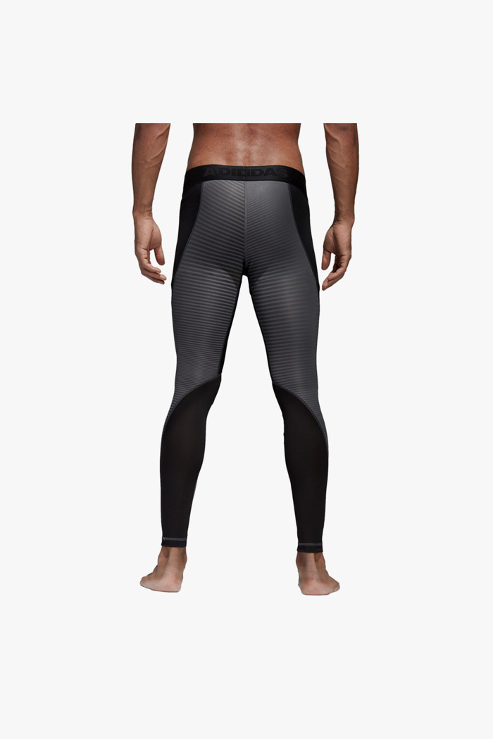 adidas Performance Alphaskin Herren Tight in schwarz grau