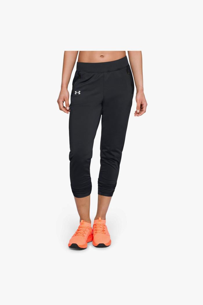 ColdGear® Run Damen Laufhose in schwarz Under Armour