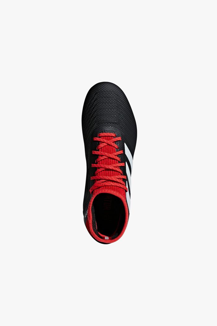 347ccea3ee379e Predator 18.3 FG Kinder Fussballschuh in schwarz-rot - adidas ...