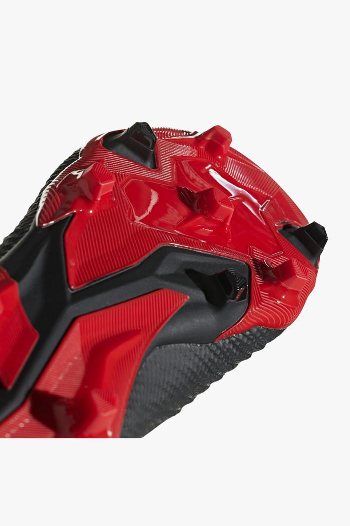 13f947545fc9ab Predator 18.3 FG Kinder Fussballschuh in schwarz-rot - adidas ...