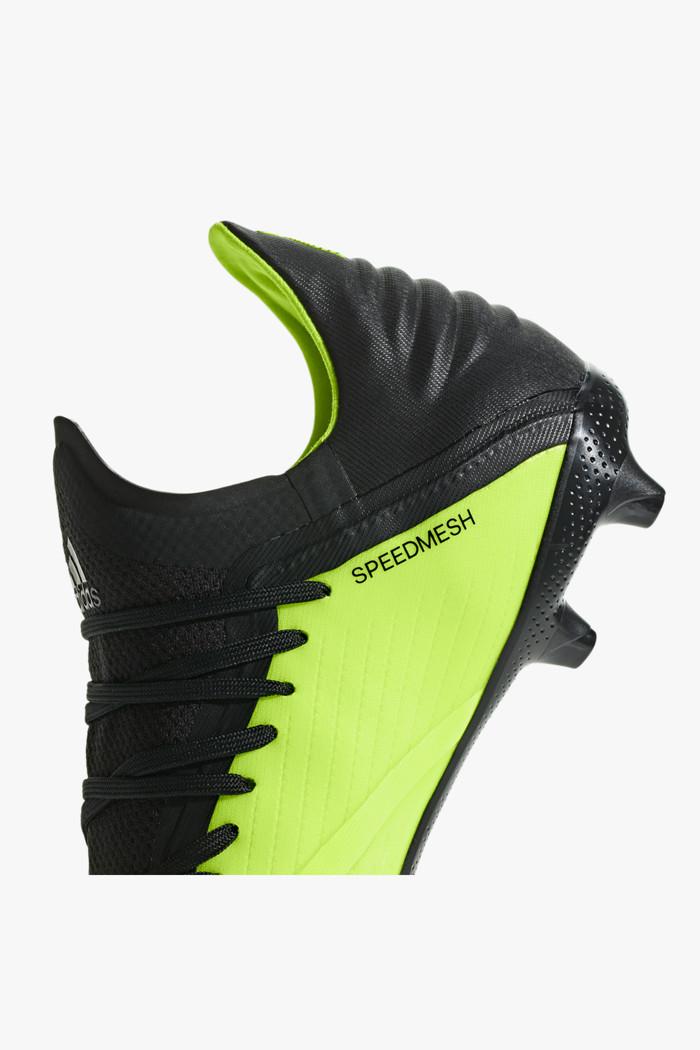adidas X 18.1 FG Kinderfussballschuh blauneongelb