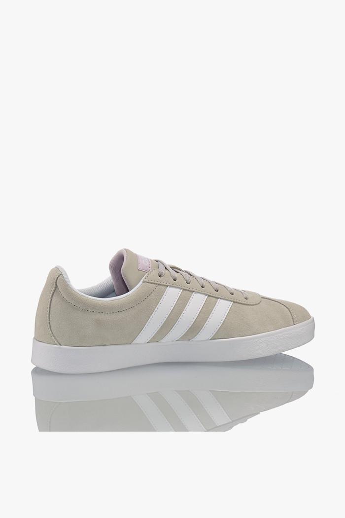 Adidas Sneaker VL Court 2.0 Damen Schuhe Schwarz Leder