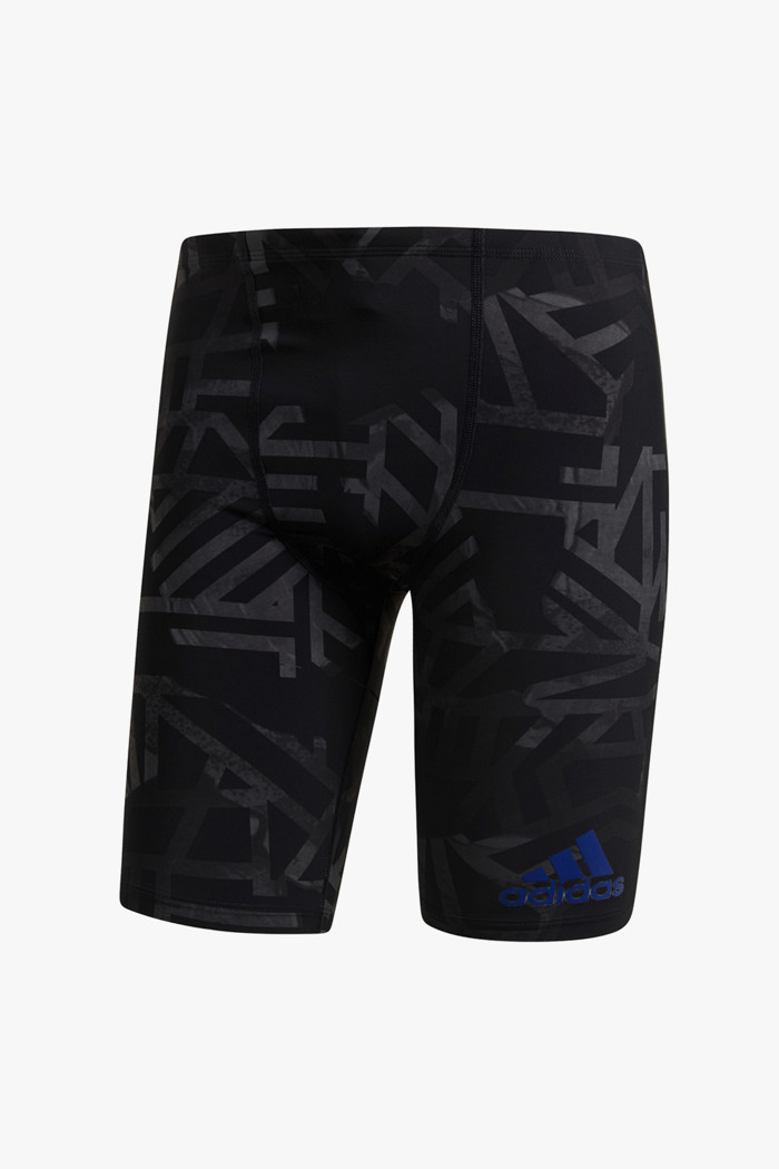 Regular JM Herren Badehose in schwarz adidas Performance