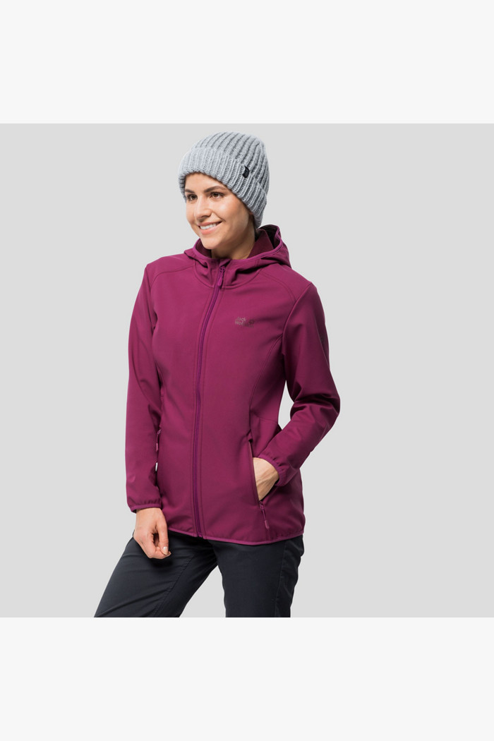 In Jack Wolfskin Northern Point Pink Damen Softshelljacke QCrtsdh