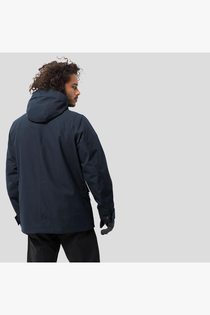 Acquista West Coast giacca outdoor uomo Jack Wolfskin in blu