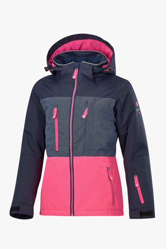 bestbewertet billig feinste Stoffe neues Hoch Mädchen Skijacke