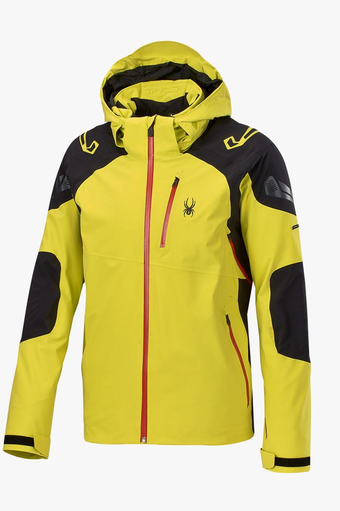 Spyder Monterosa Gore Tex® Herren Skijacke in gelb sichern
