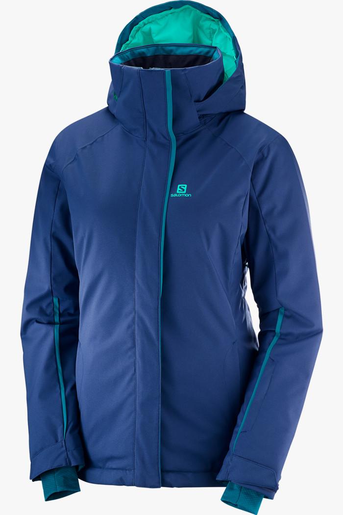 Salomon Stormpunch Damen Skijacke in blau sichern | Ochsner