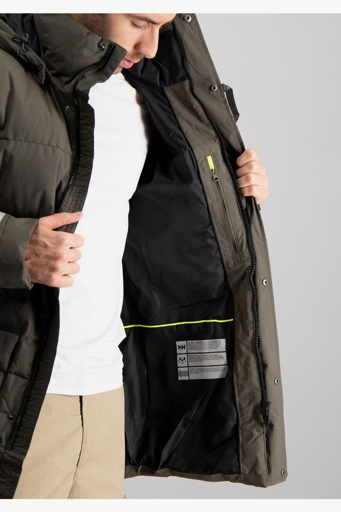 Tromsoe veste outdoor hommes in olive Helly Hansen