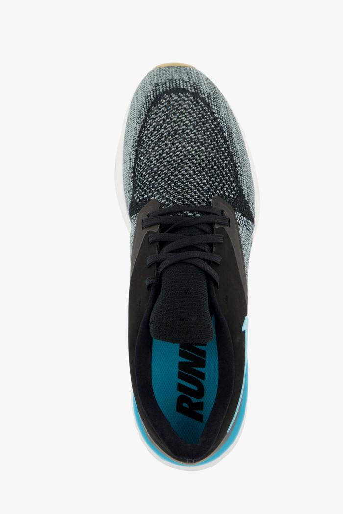 Nike Odyssey React Flyknit 2 Herren Laufschuh schwarz