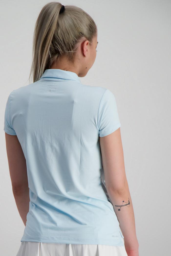 Nike Court Pure Damen Poloshirt in aqua sichern | Ochsner Sport