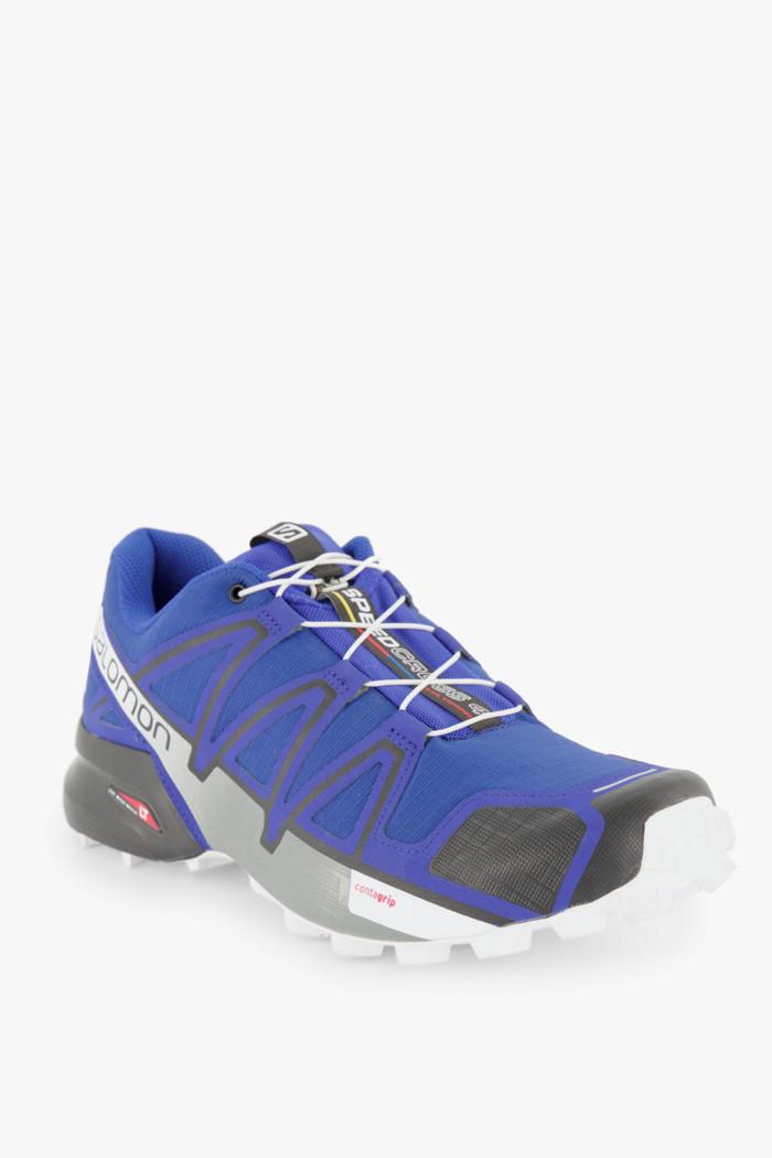 Salomon Speedcross 4 Herren Laufschuh in blau sichern