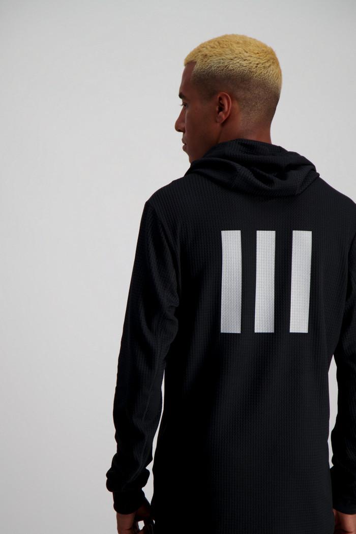 grey adidas hoodie uomo