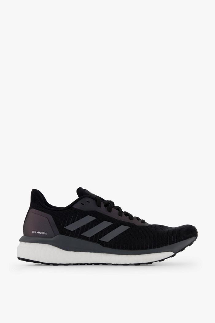 Adidas Adizero Boston 5 Laufschuhe Herren Schwarz Weiß Solar