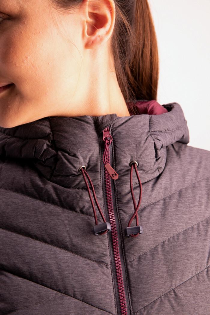 46 Nord Damen Daunenjacke in grau sichern | Ochsner Sport