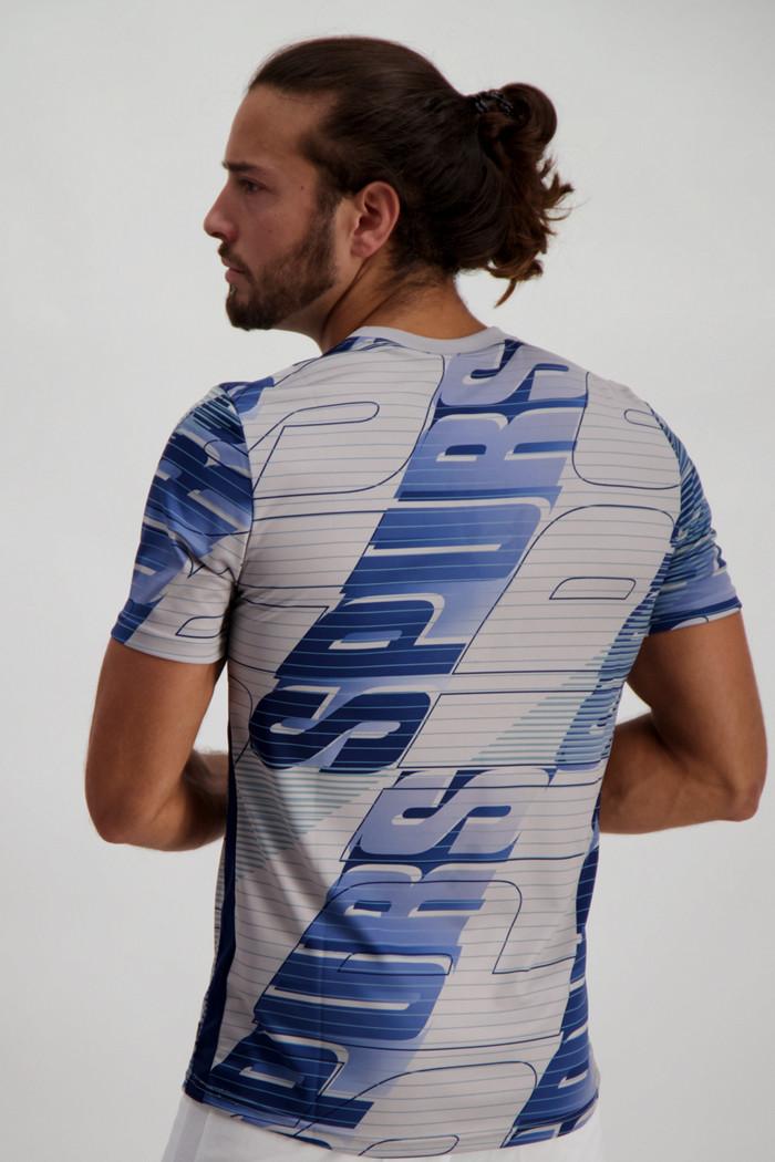 YX T-shirt Maglia Bianca off OW Geometrica Disegnati A Mano Sketch Coppie Freccia Uomini E Donne Maniche Sport Corto White-M