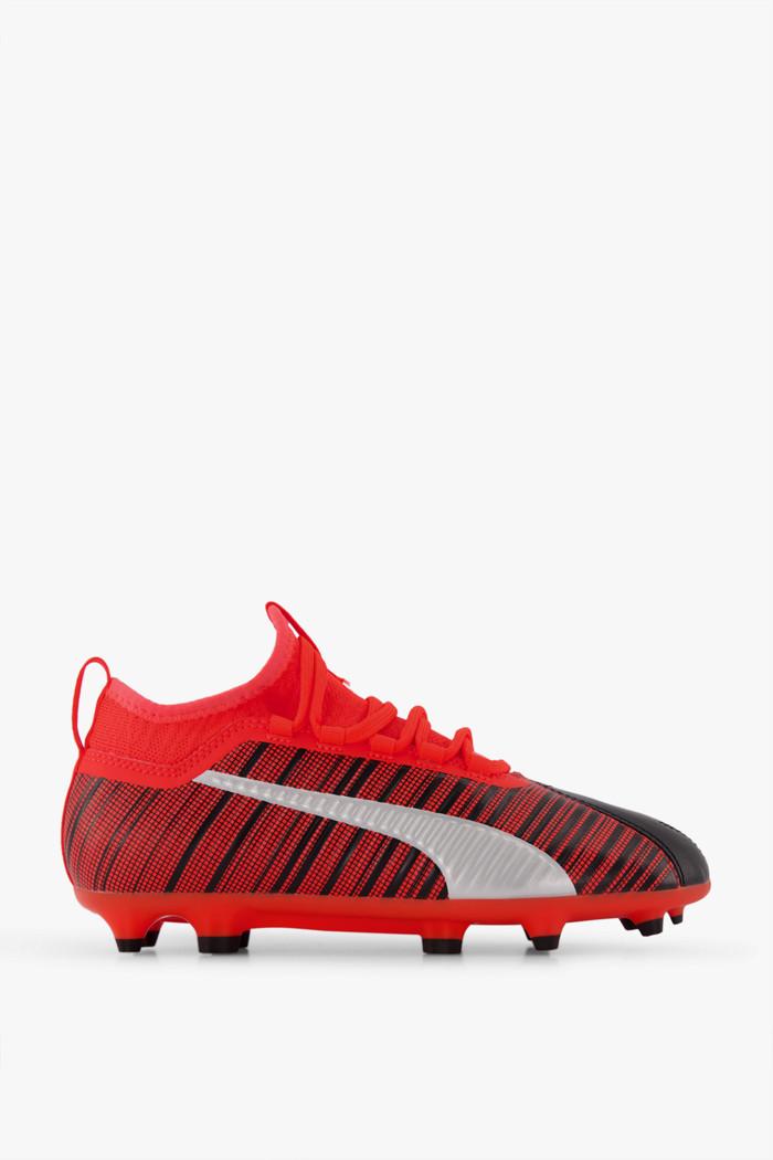 One 5.3 FGAG chaussures de football enfants Puma en orange