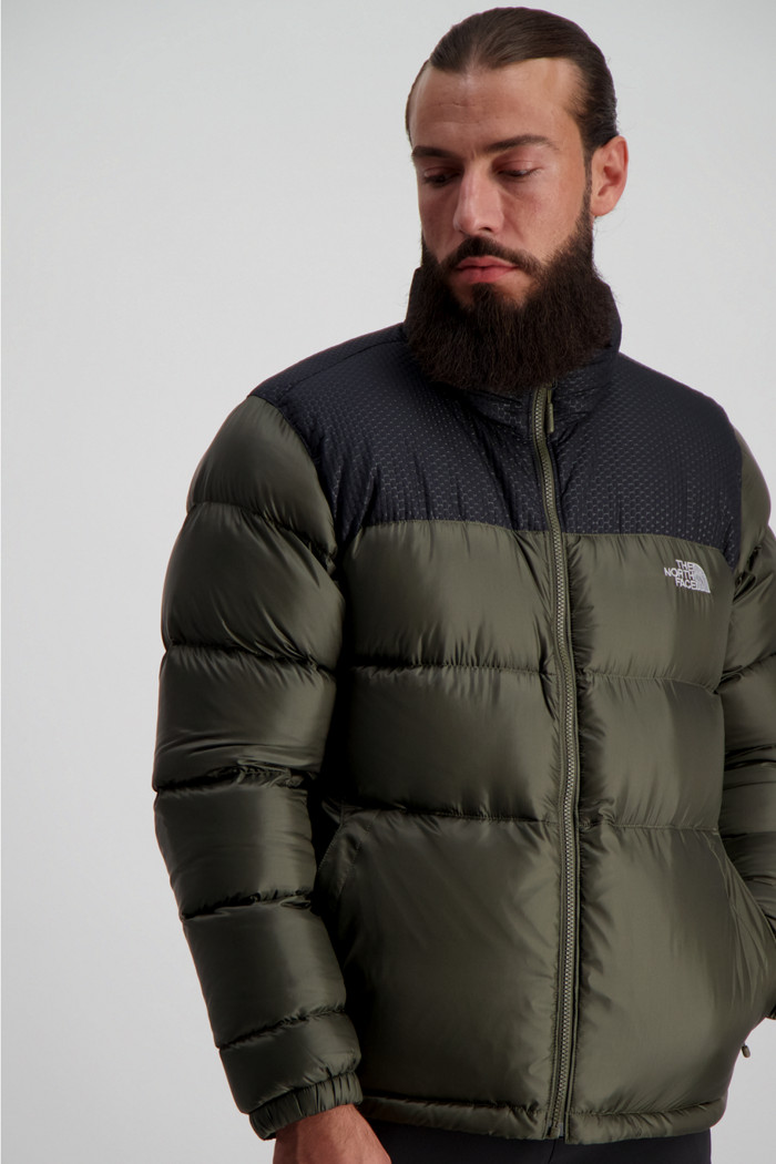 The North Face Nevero Herren Daunenjacke in olive sichern