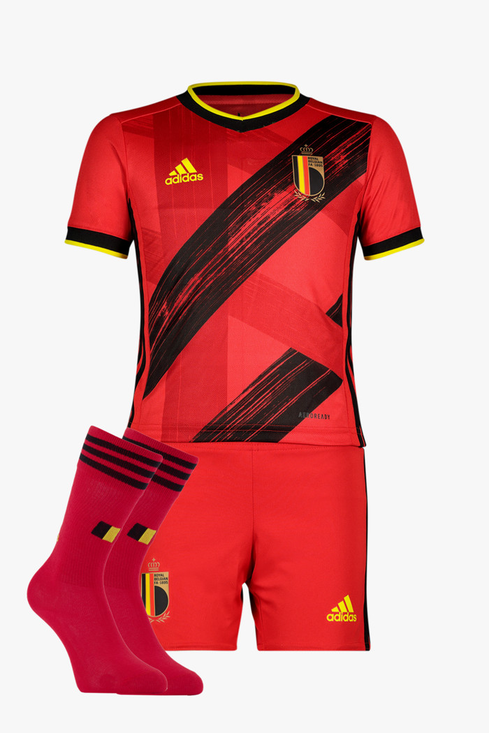 el más nuevo buscar oficial precio más bajo con Belgique Home Replica Mini kit de football enfants adidas ...