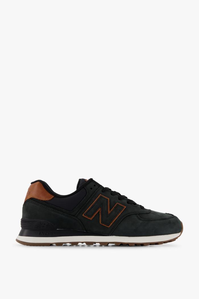 new balance 574 uomo sneaker nero