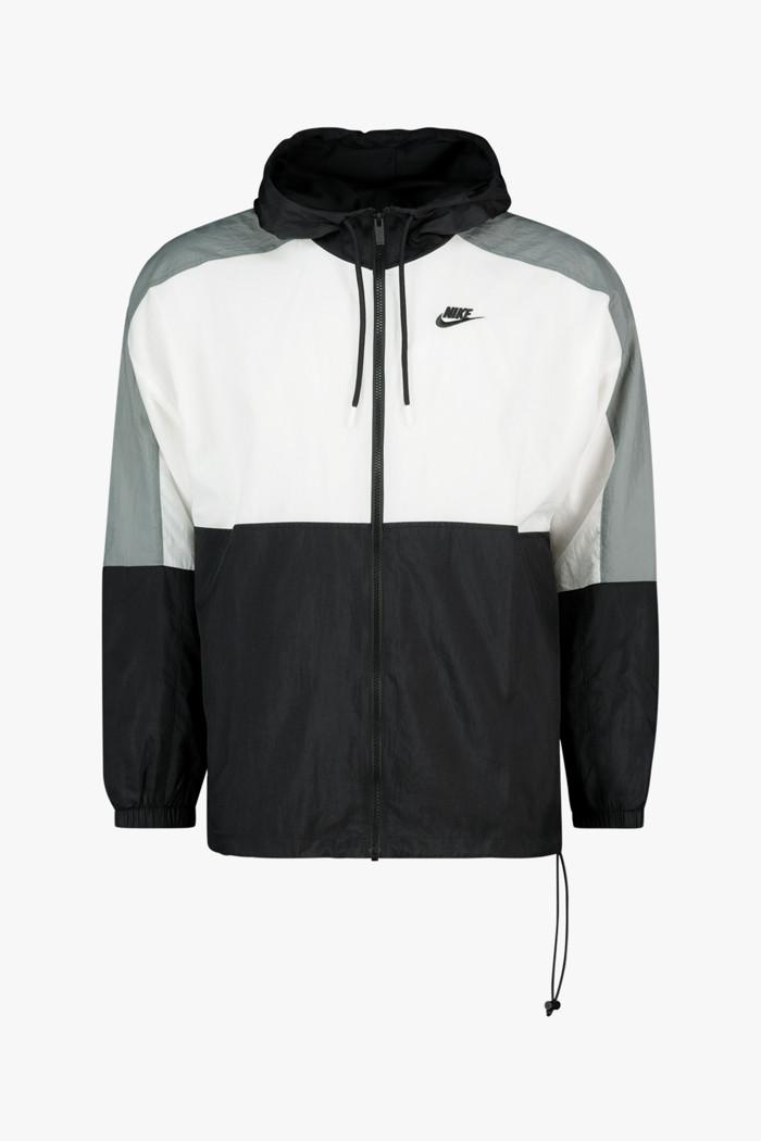 Mostrare Corda Ghepardo  Compra Woven giacca della tuta uomo Nike Sportswear in nero-bianco |  ochsnersport.ch